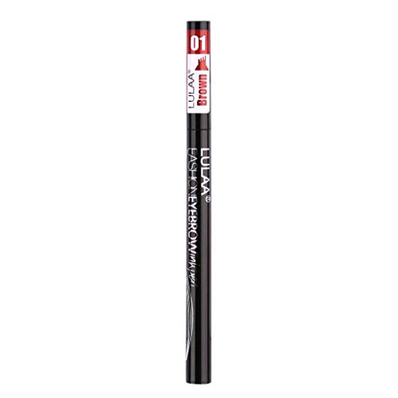 すでにタックル消防士着色すること容易な咲かない永続的な液体の眉毛の鉛筆