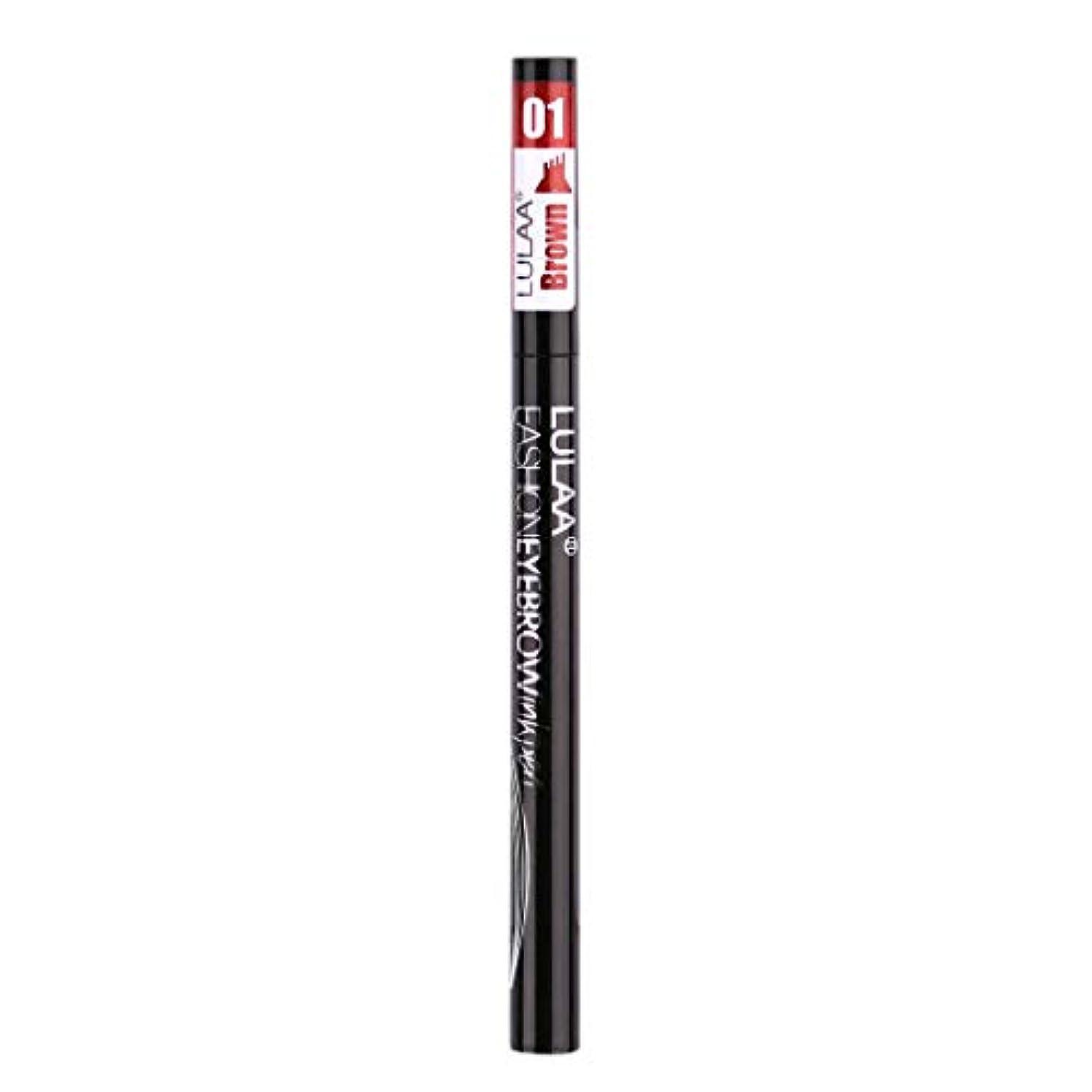 バイバイ追うターゲット着色すること容易な咲かない永続的な液体の眉毛の鉛筆