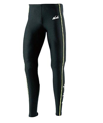 [해외]NISHI (니시 스포츠) T &  F 롱 스타킹 N76-72.0733 블랙 × 라임 L/NISHI (Nishi Sports) T &  F Long Tights N 76 - 72.0733 Black × Lime L