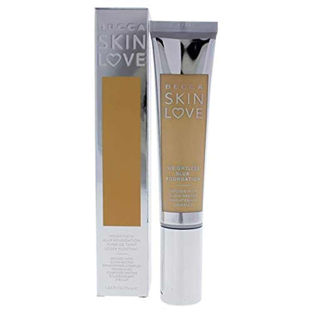 踊り子導出メモベッカ Skin Love Weightless Blur Foundation - # Shell 35ml/1.23oz並行輸入品