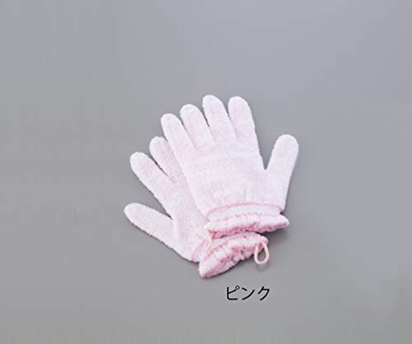 パブ散髪兄0-4015-01浴用手袋(やさしい手)ピンク