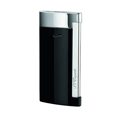 S.T.DUPONT(エス・テー・デュポン) スリム7 ライター ブラック&クロム 27700.0