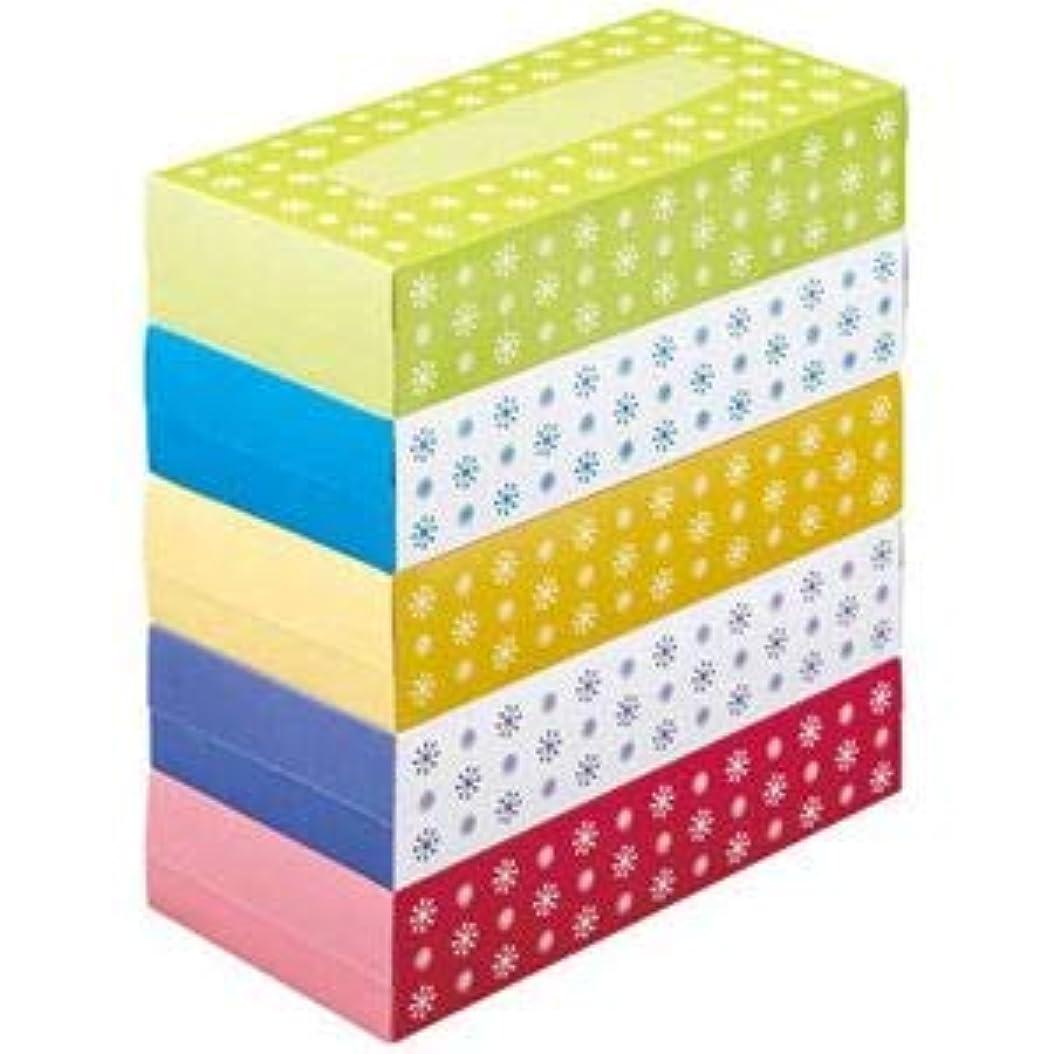 パスタ消化タップ(まとめ) スマートバリュー ティッシュペーパー 5箱入 N042J【×10セット】