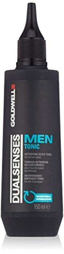 昆虫膜モニターゴールドウェル Dual Senses Men Tonic Activating Scalp Tonic (For All Hair Types) 150ml/5oz並行輸入品