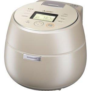 三菱 IHジャー炊飯器(5.5合炊き) 白和三盆MITSUBISHI 本炭釜 KAMADO NJ-AW108-W