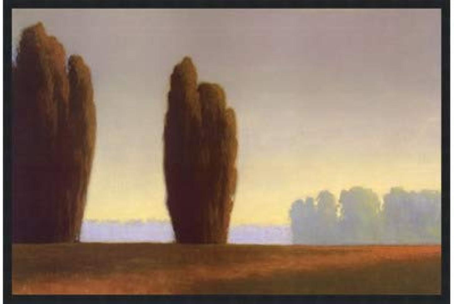 ウールありふれたと闘う銅Meadows I by Allan Stephenson – 36 x 24インチ – アートプリントポスター LE_660208-F101-36x24