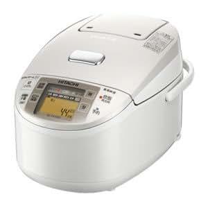 日立 圧力スチームIH炊飯器 5.5合 パールホワイト RZ-SX100J W