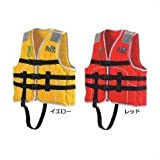 ocean life(オーシャンライフ) 国土交通省型式承認ライフジャケット 小型船舶小児用救命胴衣 Jr-1M型 Mイエロー Jr-1M型 イエロー