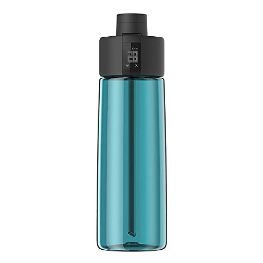 タイムリーな工場浅いTechcomm bocombiスマートウォーターボトルZephair Hydrationトラッキング、アラームスマートストローテクノロジーと水和のホットとコールドnon-carbonated Drinks