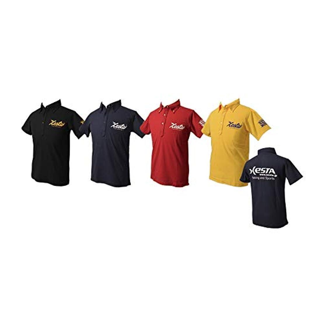 選ぶ空気悪意のあるゼスタ(XESTA) ドライポロシャツ(XESTAフック) ネイビー S