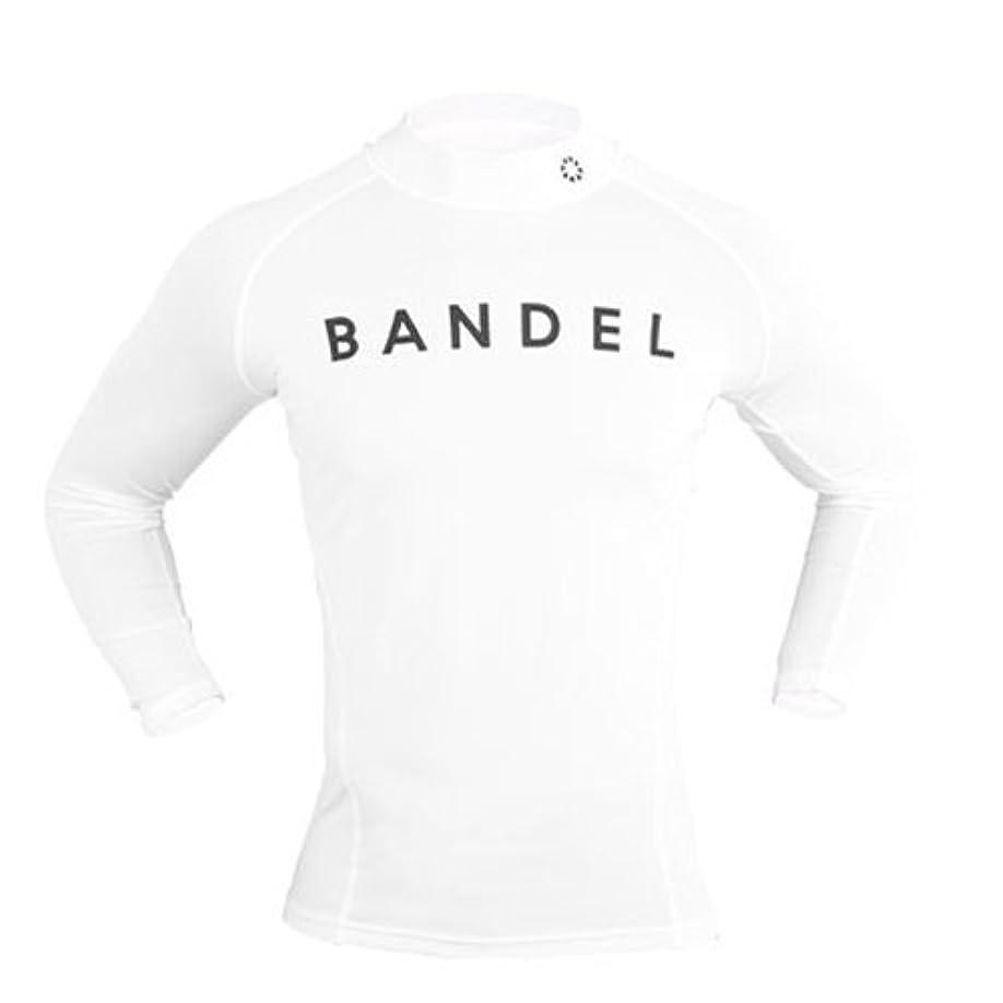 有料劇場煩わしいBANDEL ハイネックロングTシャツ ホワイト M