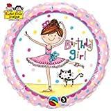 キッシーズ 風船 レイチェルエレン バースデーガール バレリーナ Birthday Girl Ballerina PIN50542