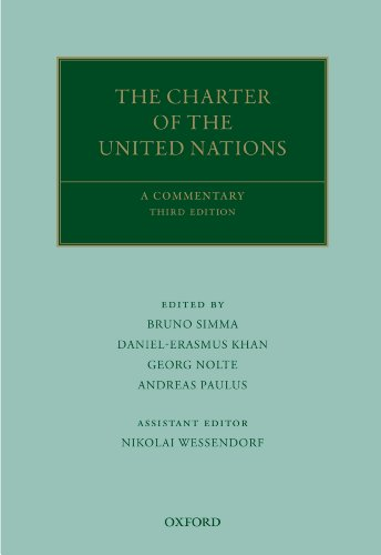 The Charter of the United Nations: A Commentary (Oxford Commentaries on International Law)