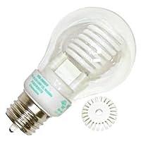 Litetronics 49980–mb-500dp 5W a19CL PW冷陰極スクリューベースコンパクト蛍光灯電球