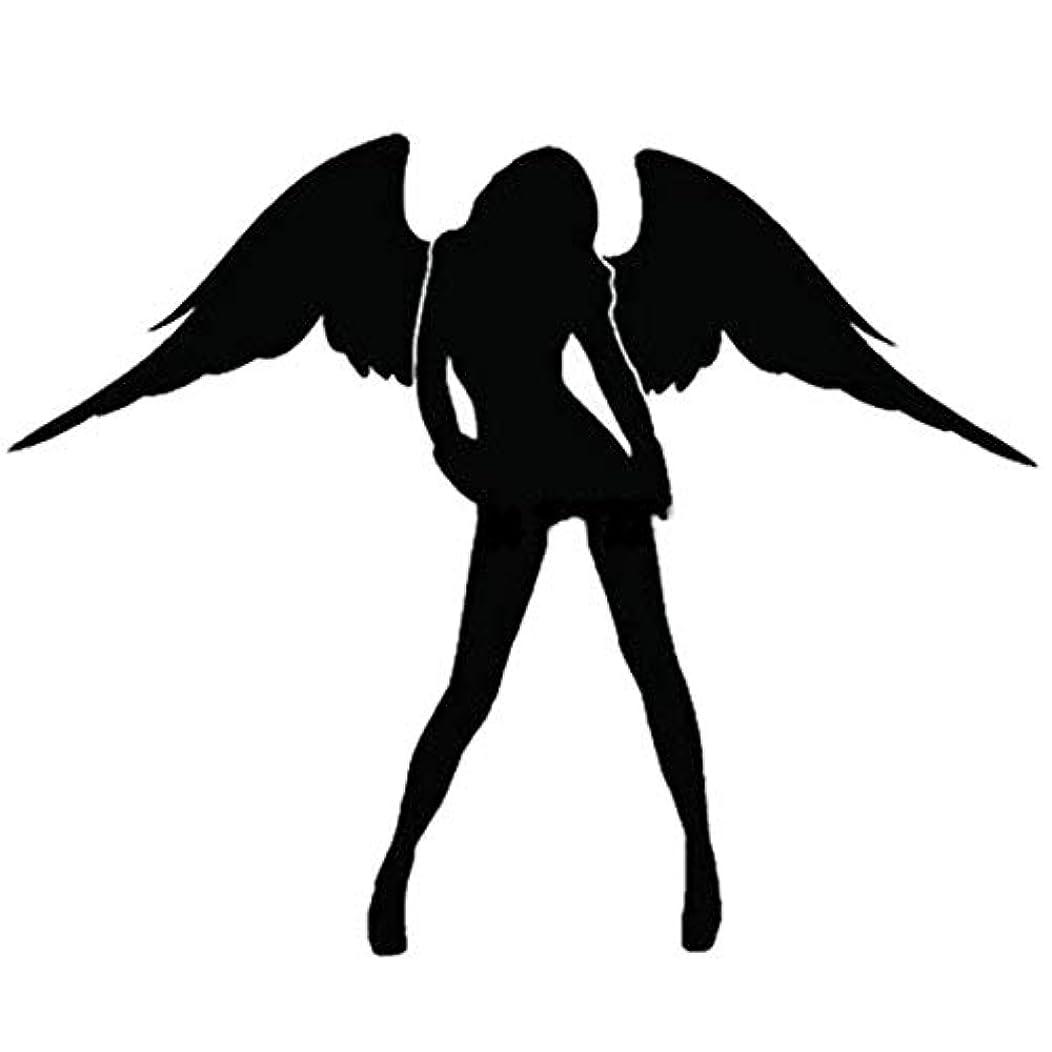 株式会社キャンディー毒液Blackfell エンジェル&デビルパターン車のステッカー反射セクシーな美しさの女性車のステッカービニールデカール用車のウィンドウトラックオートバイ