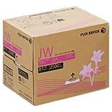 【まとめ買い】富士ゼロックス 高白色カラープリンター用紙 JW A4 1箱(250枚×10冊)