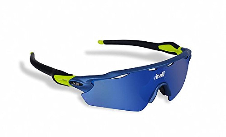 変色調光グラス  偏光サングラス スポーツサングラス 紫外線に反応して色が変わる変色メガネ 超軽量 UV400 紫外線カット 人気商品 (ブルーフレーム&ブラックテンプル)