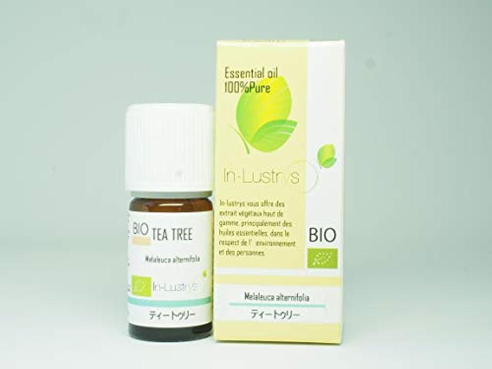 後退する独立して体細胞インラストリーズ エッセンシャルオイル ティートゥリー 5ml