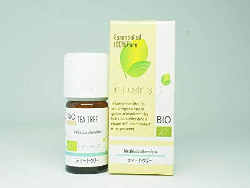 見捨てる勝利うまくいけばインラストリーズ エッセンシャルオイル ティートゥリー 5ml(学名Melaleuca alternifolia)