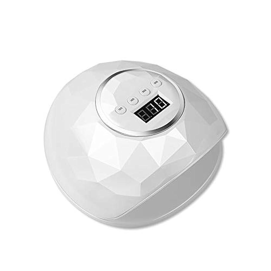 ゲルネイルドライヤーwith4タイマー用86W LED UVネイルランプ