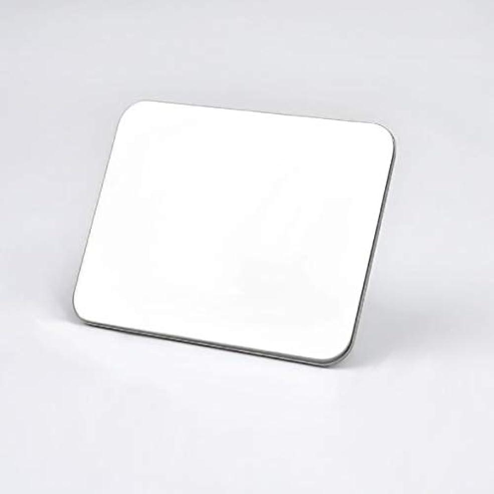 チラチラするコンパイルばかげているIntercoreyパレット長方形ステンレス鋼化粧品メイクアップリングパレットネイルアート機器ツール