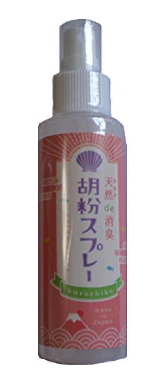 獲物不調和凍る京都くろちく 胡粉スプレー