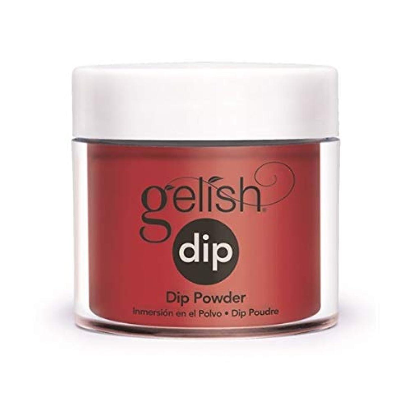 折り目牛単にHarmony Gelish - Dip Powder - Forever Marilyn Fall 2019 Collection - Classic Red Lips - 23g / 0.8oz