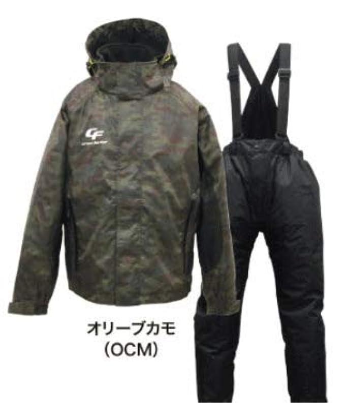 帳面地下室エロチック浜田商会 防水防寒ウィンタースーツ(上下セット)WBA-1510 オリーブカモ L