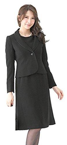 (アッドルージュ)AddRougeブラックフォーマル喪服ワンピーススーツ礼服アンサンブルレディース【c562016】15号