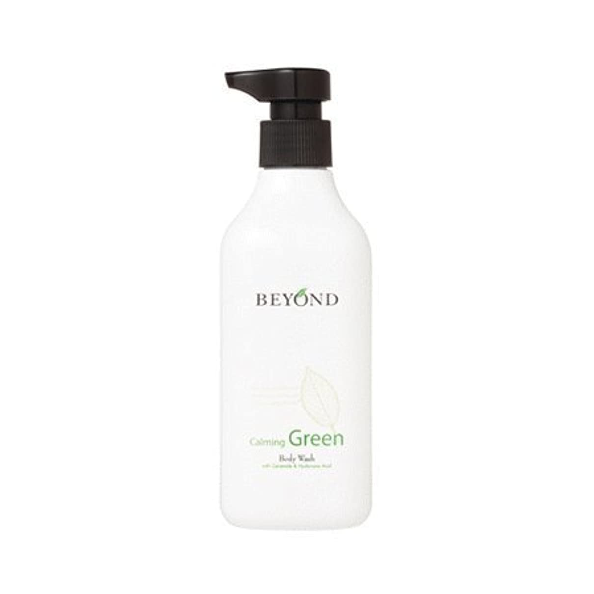 人柄しわ一般的なBeyond calming green body wash 300ml