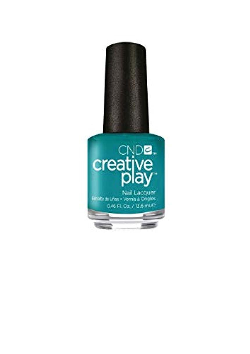 チート首尾一貫した年CND Creative Play Lacquer - Head Over Teal - 0.46oz / 13.6ml