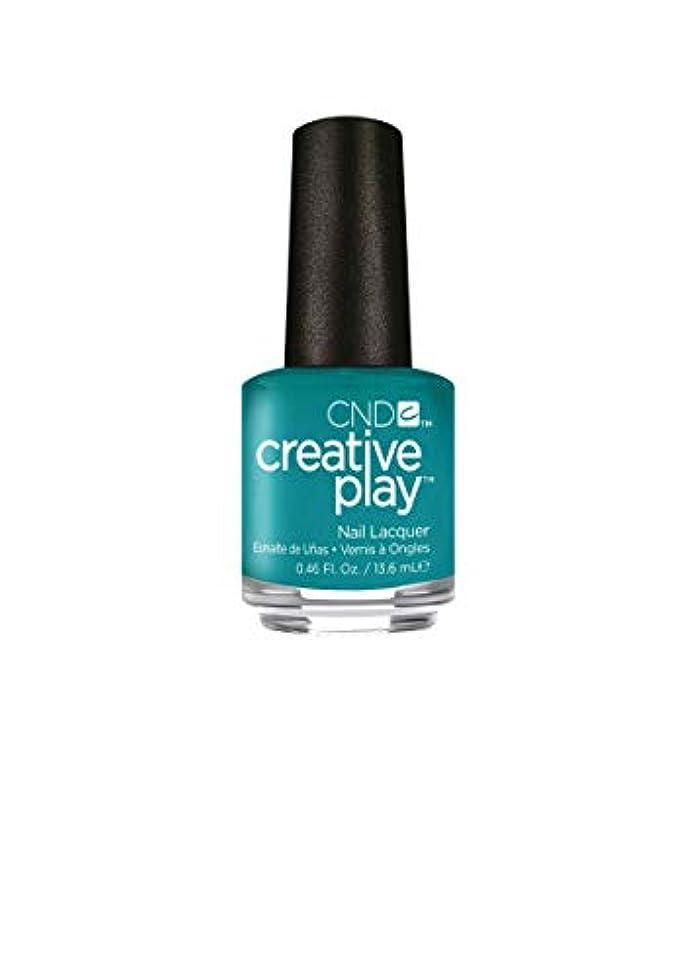 悪化する誕生日入り口CND Creative Play Lacquer - Head Over Teal - 0.46oz / 13.6ml