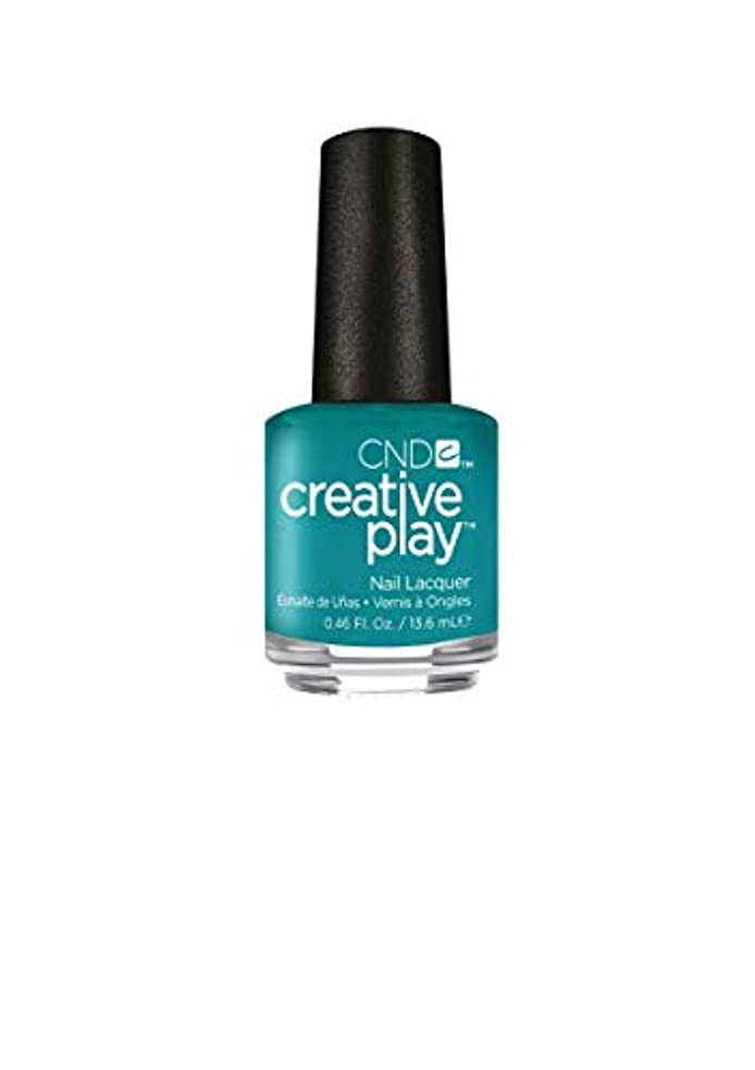 重力葉巻汚いCND Creative Play Lacquer - Head Over Teal - 0.46oz / 13.6ml