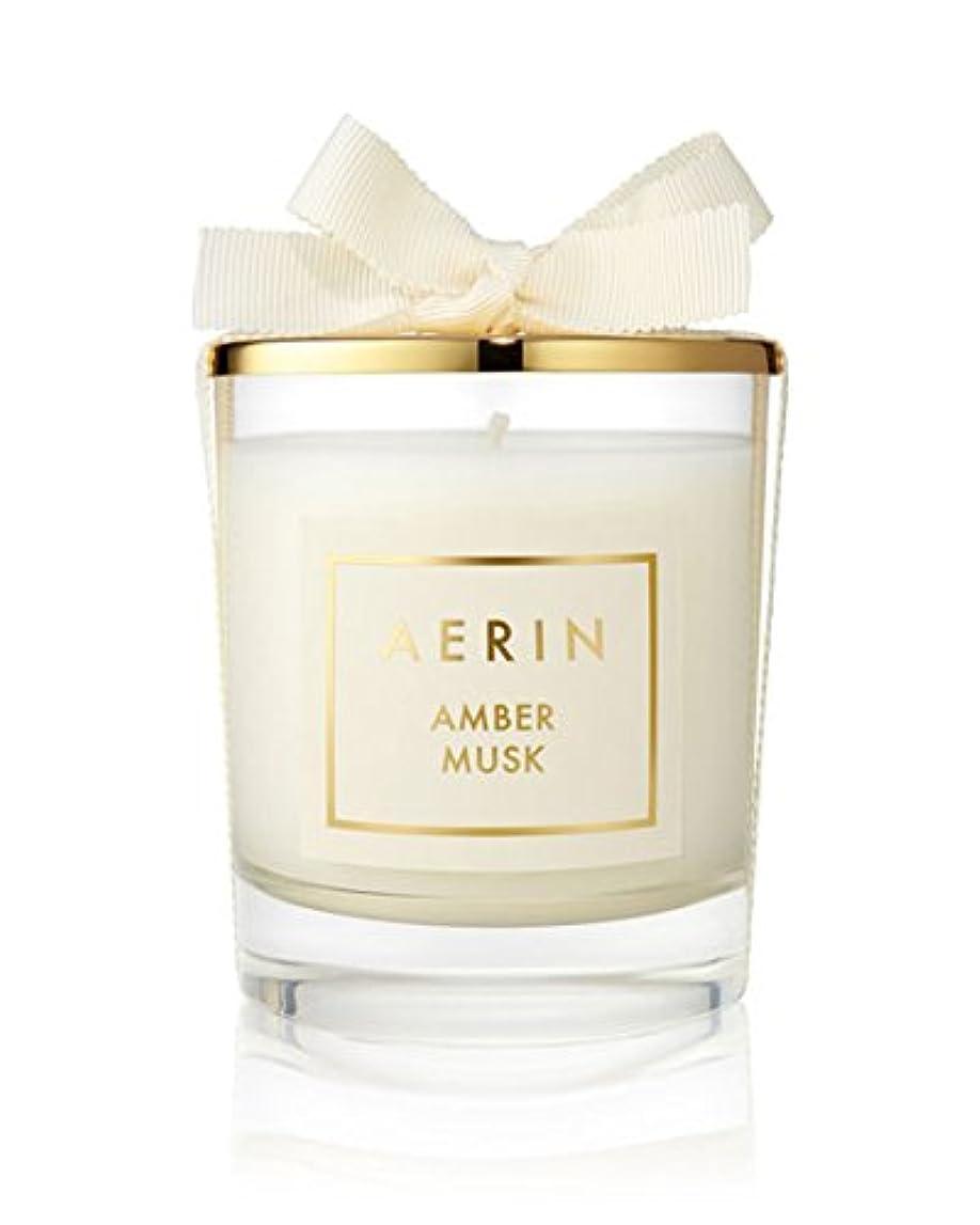 レッドデート忌み嫌う温室AERIN AmberムスクCandle 7オンス/ 200 g Limited Edition