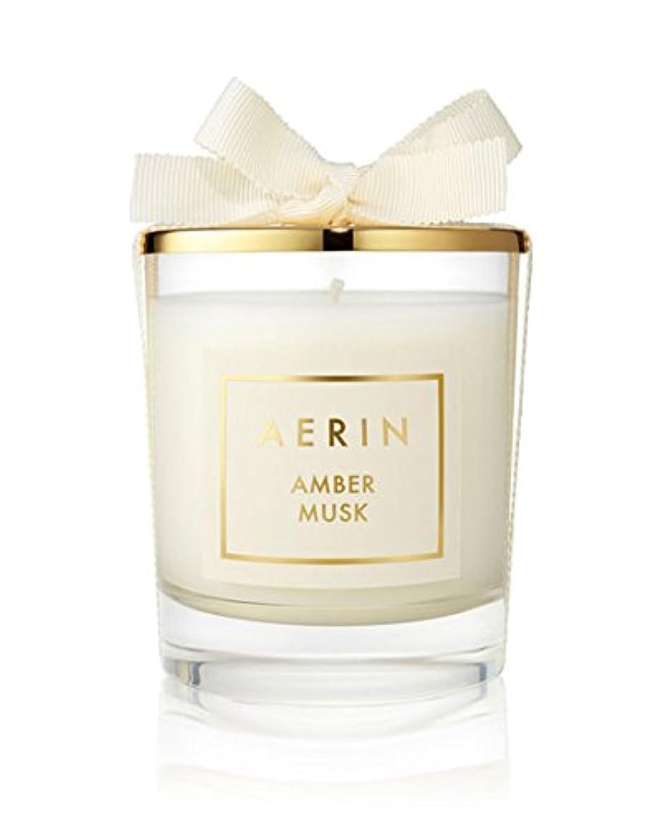 平凡動機付ける利用可能AERIN AmberムスクCandle 7オンス/ 200 g Limited Edition