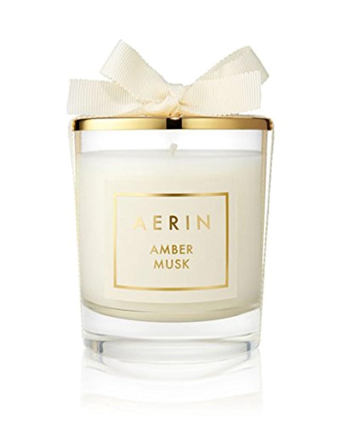 神経障害宿題郡AERIN AmberムスクCandle 7オンス/ 200 g Limited Edition