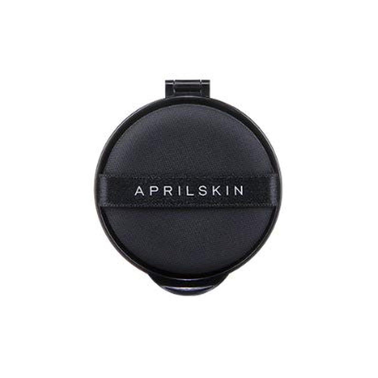 円形の名目上のモンキーエイプリル スキン(APRIL SKIN) パーフェクトマジックカバーフィットクッション (リフィル) 13g / APRILSKIN PERFECT MAGIC COVER FIT CUSHION (REFILL) 13g...