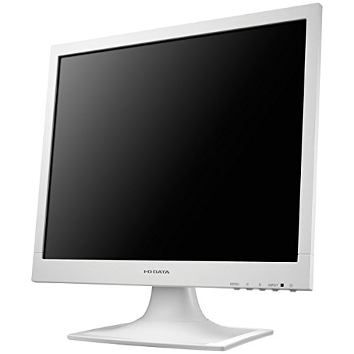 I-O DATA フリッカーレス設計 17型スクエア液晶 ホワイト LCD-AD173SESW