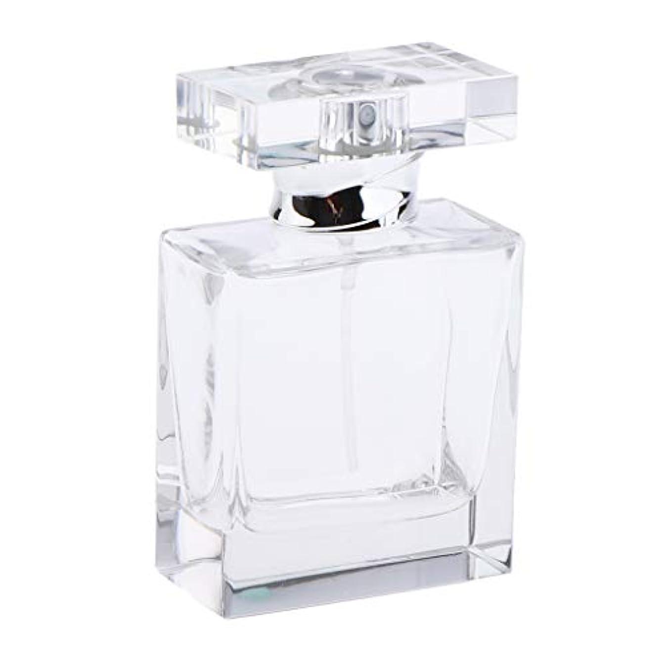 民族主義お金トピックB Blesiya 香水ボトル クリア クリスタル スクエア ガラスボトル