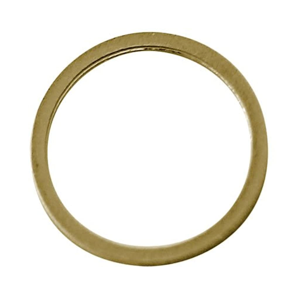 センサー皮先例プリティーネイル ネイルアートパーツ フレームリンク゛M ゴールド 5個