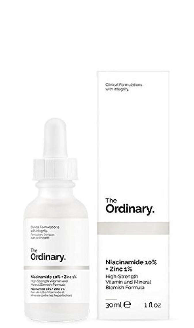 天気異常焦げThe Ordinary Niacinamide 10% + Zinc 1% 30ml