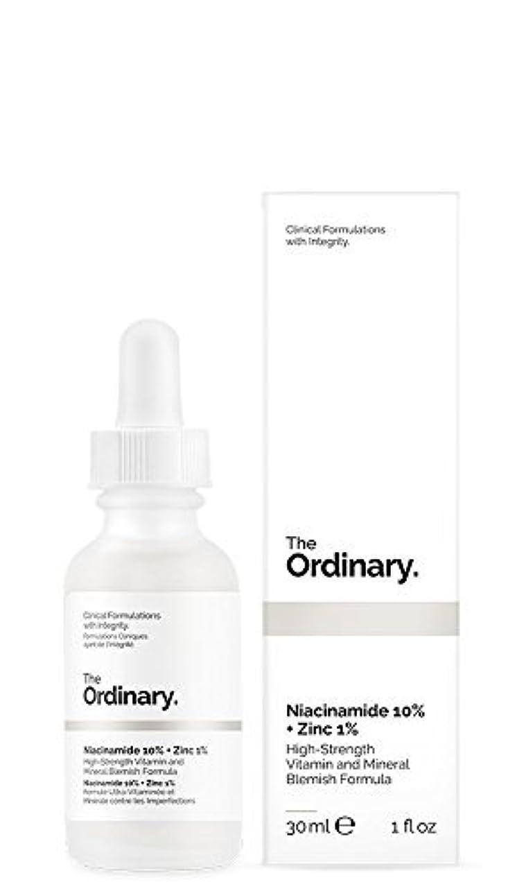 欺く読み書きのできない緊張するThe Ordinary Niacinamide 10% + Zinc 1% 30ml