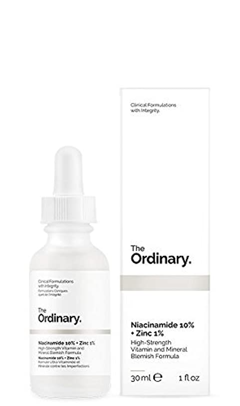 安息日曜日寄生虫The Ordinary Niacinamide 10% + Zinc 1% 30ml