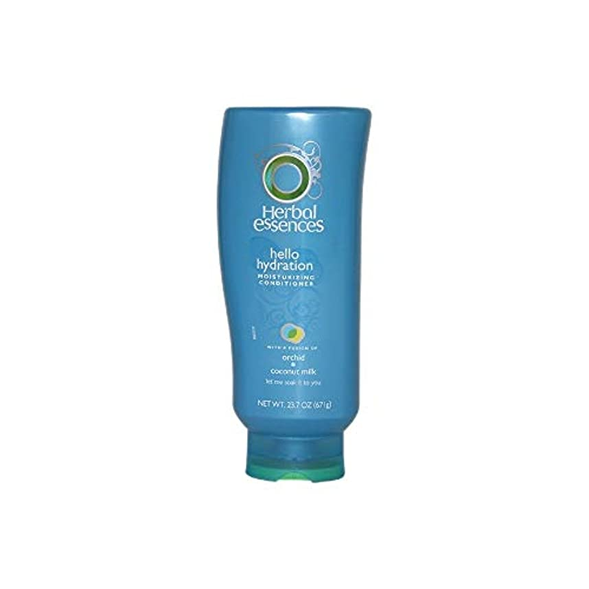 金額地上で自分自身Herbal Essences Hello Hydration Moisturizing Conditioner