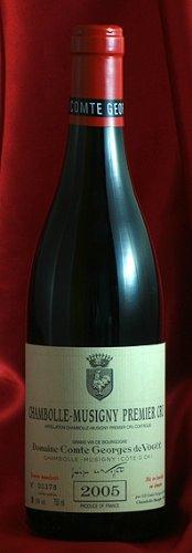 シャンボール・ミュジニー プルミエ・クリュ [2005] Chambolle Musigny Premier Cru 750ml コント ジョルジュ ド ヴォギュエ Comtes Georges de Vogue