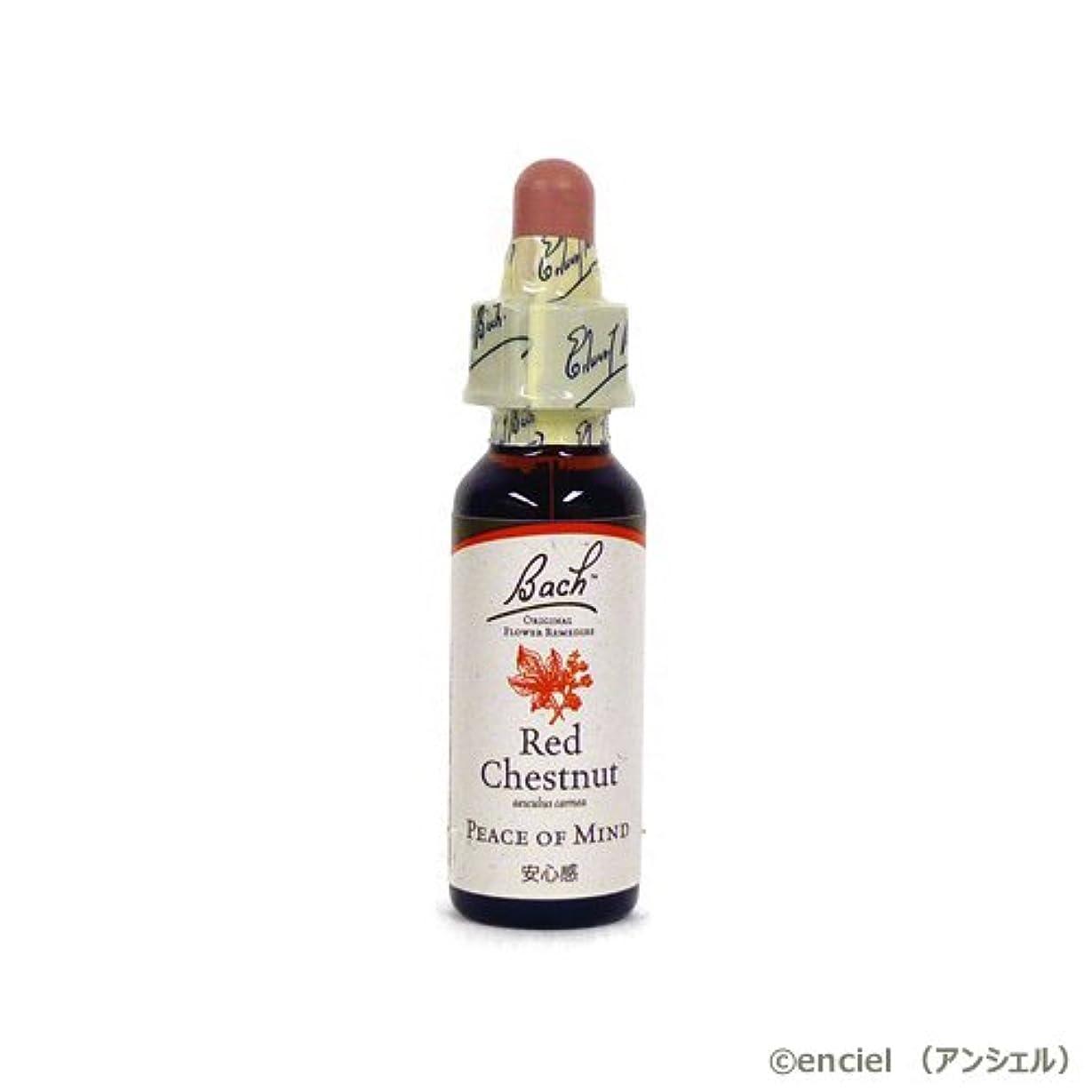 予防接種レルム浅いバッチフラワー レメディ レッドチェストナット 10ml グリセリンタイプ 日本国内正規品