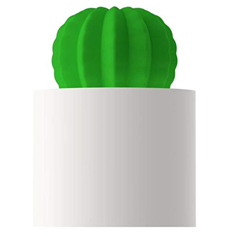 加湿器 - サボテン加湿器ホーム低音ベッドルームUsb小型デスクトップオフィスミニかわいい携帯用エアスプレー (色 : 白)