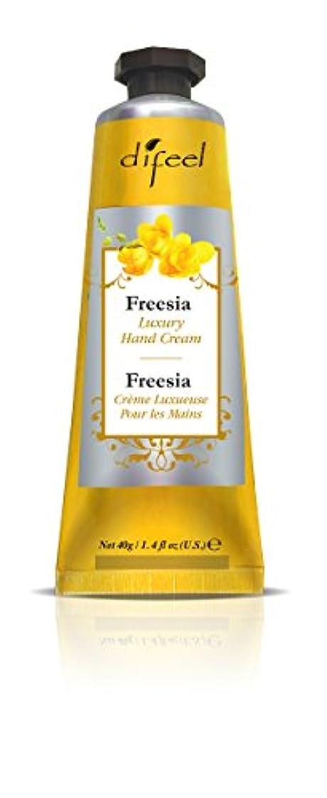 平野クリープ消化Difeel(ディフィール) フリージア ナチュラル ハンドクリーム 40g FREESIA 03FRSn New York