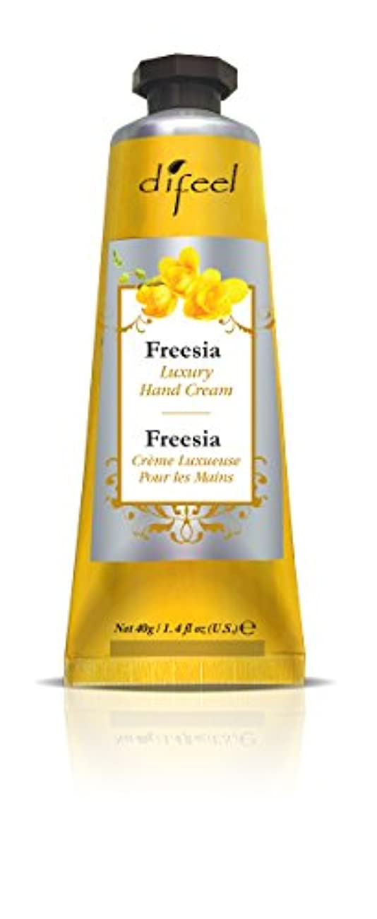 副産物まばたきどんよりしたDifeel(ディフィール) フリージア ナチュラル ハンドクリーム 40g FREESIA 03FRSn New York