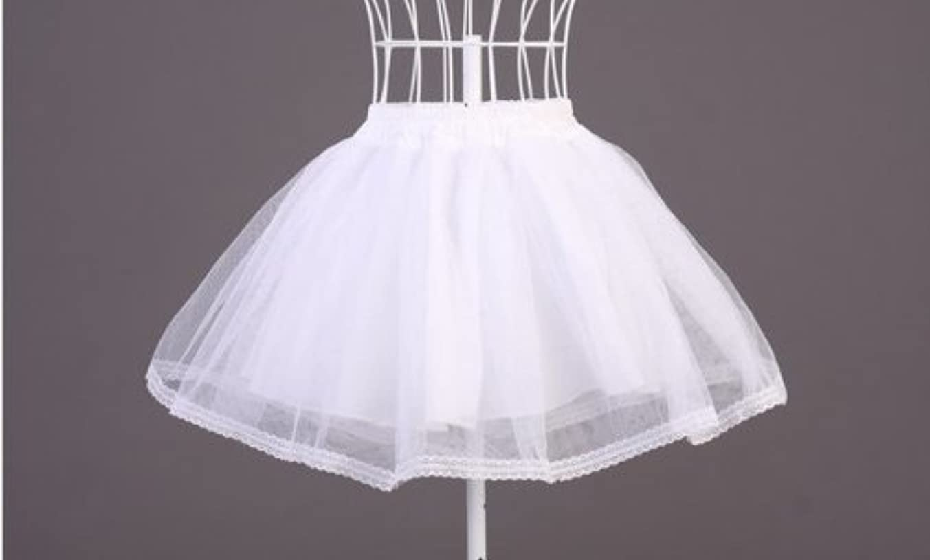 家事をするスポーツ硫黄パニエ ホワイト コスチューム用小物 着丈約35cm